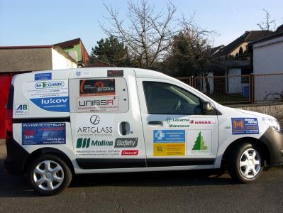 Sociální automobil určený pro Domov a Centrum denních služeb